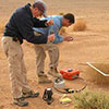 Measurement of soil gas, flux and botanical observations at In Salah, Algeria