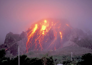 Photograph from the SoufrièreHills Volcano, Montserrat